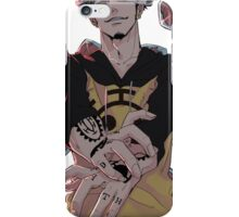 Trafalgar D. Law King of  Hearts iPhone Case/Skin