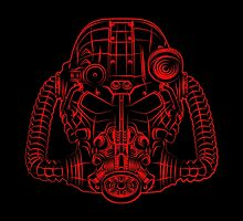 Power Wireframe Red by DantexAGC