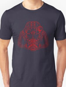 Power Wireframe Red T-Shirt