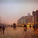 John Atkinson Grimshaw  Liverpool from Wapping (1885) by Adam Asar