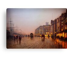 John Atkinson Grimshaw  Liverpool from Wapping (1885) Canvas Print