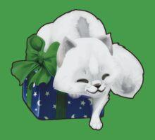 Christmas Present Artic Fox Kids Clothes