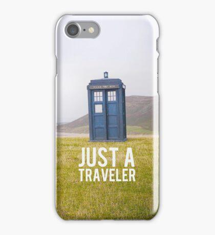 Just a Traveler  iPhone Case/Skin