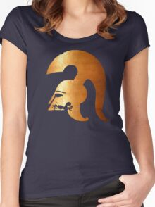 ancient warrior Women's Fitted Scoop T-Shirt