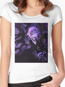 The Darkness Around Crona Women's Fitted Scoop T-Shirt