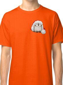 Santa Hat Wearing Baby Emperor Penguin Classic T-Shirt