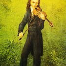 Kersting Der Geiger Nicolo Paganini by Adam Asar