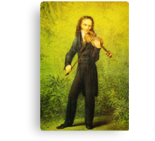Kersting Der Geiger Nicolo Paganini Canvas Print