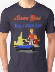 Retro save gas, buy a pedal car T-Shirt