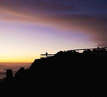 Mount Wellington sunrise by Jen Rayner