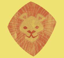Animal Rainbow: Lion One Piece - Short Sleeve