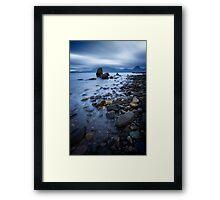 Life in Blue II Framed Print