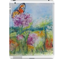 Indiana Prairie Wild Flowers iPad Case/Skin
