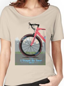 L'Étape du Tour Bike Women's Relaxed Fit T-Shirt