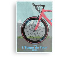 L'Étape du Tour Bike Metal Print