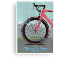 L'Étape du Tour Bike Canvas Print