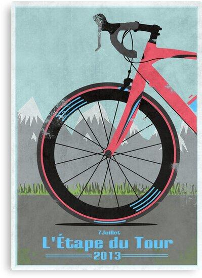 L'Étape du Tour Bike by Andy Scullion