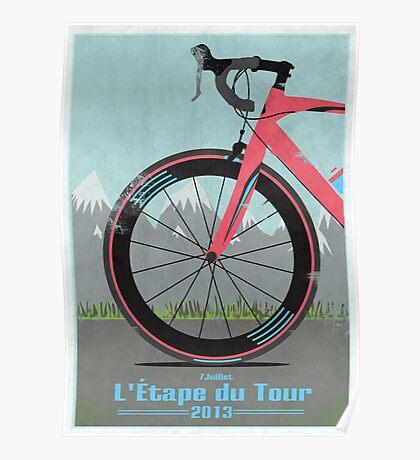 L'Étape du Tour Bike Poster