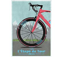 L'Étape du Tour Bike Photographic Print
