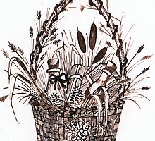 The Goodies Basket by Anne Guimond