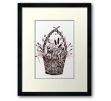 The Goodies Basket Framed Print