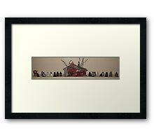 Skaro Christmas 1 Framed Print