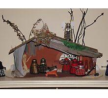 Skaro Christmas 2 Photographic Print