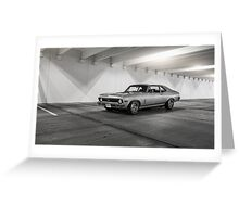 1969 Chevrolet Nova Greeting Card
