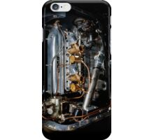 4.5 Litre Bentley Engine iPhone Case/Skin