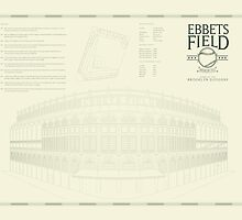 Ebbets Field, Brooklyn NY by jacobvanakin