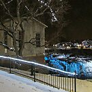 Christmas at Falls Park by Greg Belfrage