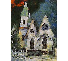 Is That Where Baby Jesus Lives? Photographic Print