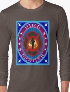 Fire fighter vintage gits  Long Sleeve T-Shirt