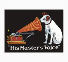 His Master's Voice, Nipper the Dog Baby Tee