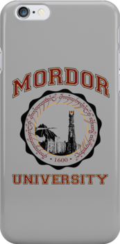 Mordor University by Bizarro Tees