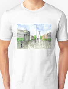 O'Connell Street in Watercolor T-Shirt