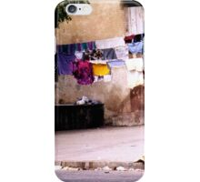 Kids and Clothesline in Senegal iPhone Case/Skin