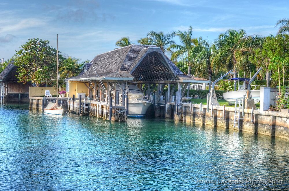 Boat's Cocoon in Nassau, The Bahamas by Jeremy Lavender Photography