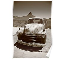 Route 66 - Classic Chevy Poster