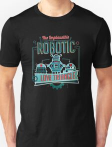 Robotic Love Triangle T-Shirt