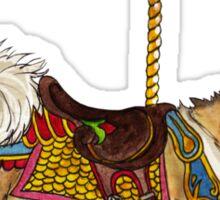 Vallhund Merry-Go-Round Sticker