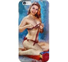 Vintage Pinup by Frank Falcon iPhone Case/Skin