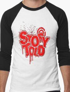 Story Told Red Men's Baseball ¾ T-Shirt