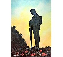 We Will Remember Photographic Print
