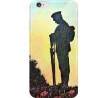 We Will Remember iPhone Case/Skin