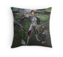 The Faith to Smite the Mighty Throw Pillow
