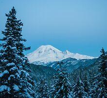 Good Morning Rainier by tsarts