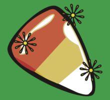 Candy corn - YummyPreciousShinySparkly!!! One Piece - Short Sleeve