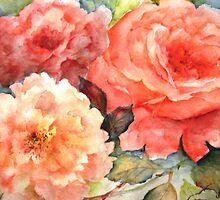 Roses by Artzart