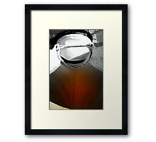 Laying The Foundation Framed Print